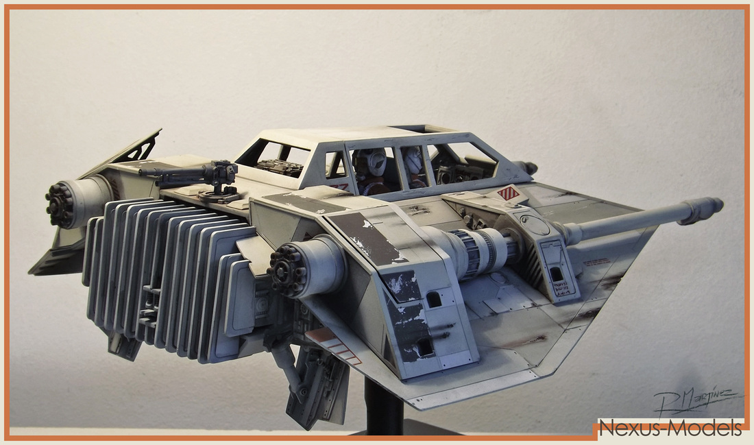 Nexus Models 1/8 Snowspeeder Resin Kit.