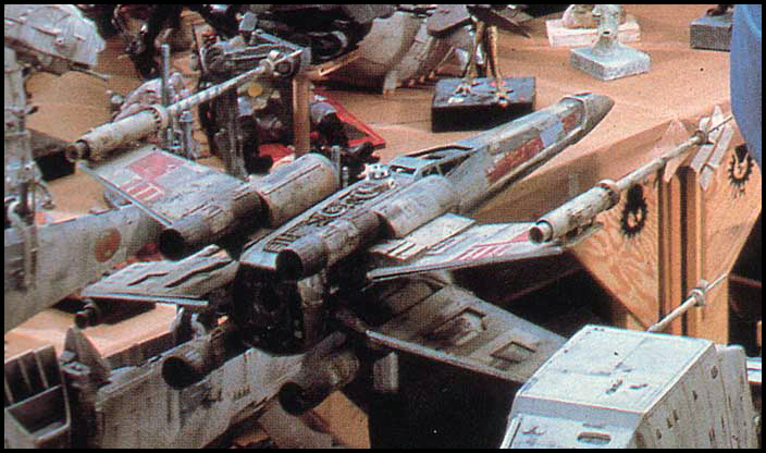 ILM Red 5 Original Filming Model.